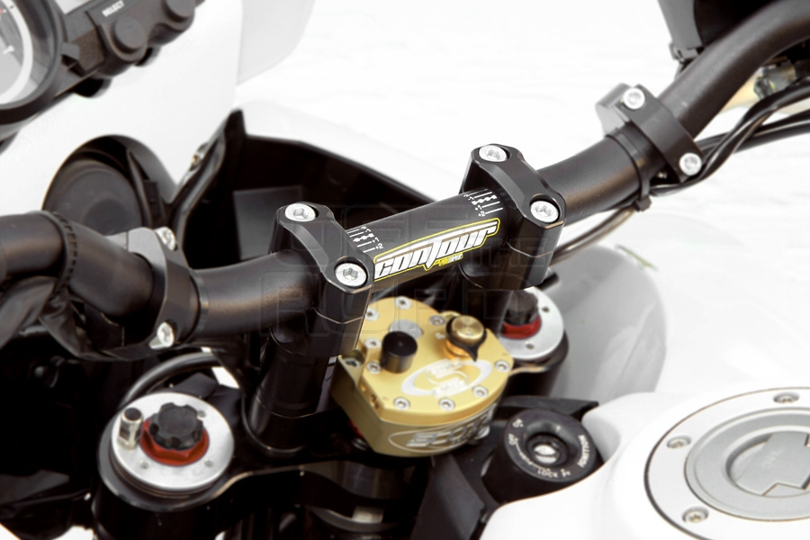 Pro Taper Handlebars >> Off The Road Handlebar Clamps For 22 28mm Handlebars Yamaha Xt660r X Online Webshop
