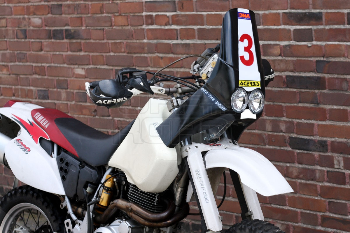 OFF-THE-ROAD | OTR Rally fairing kit TT-600R and RE | Online Webshop