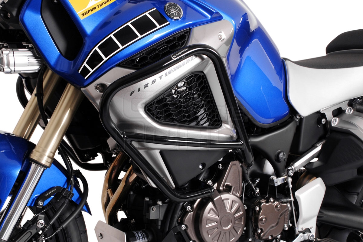 Color : B Black Bei Super Tenere Tenere1200 Tenere 1200 XT1200Z 2020 Motorrad Motorschutzb/ügel Schutz Sto/ßschutz-Block