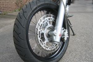 320mm Brake disc incl. Adapter Yamaha TT-600