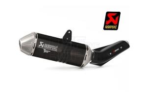 Akrapovic Schalldämpfer BLACK Yamaha Tenere 700