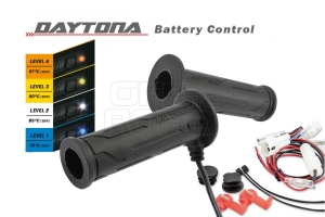 Heizgriffe Daytona V mit unsichtbar integriertem Schalter und Batterieschutz