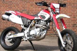 OTR Leistungskrümmer Yamaha TT-600