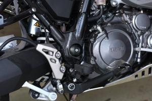 Swingarm axle covers Yamaha XT-660Z Tenere