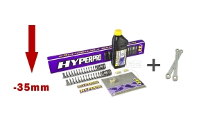 Hyperpro Tieferlegungskit inkl. Gabelfedern -35mm Yamaha Tenere 700