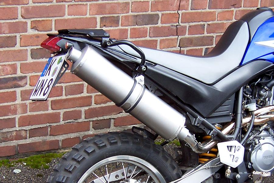 Yamaha Xt Exhaust