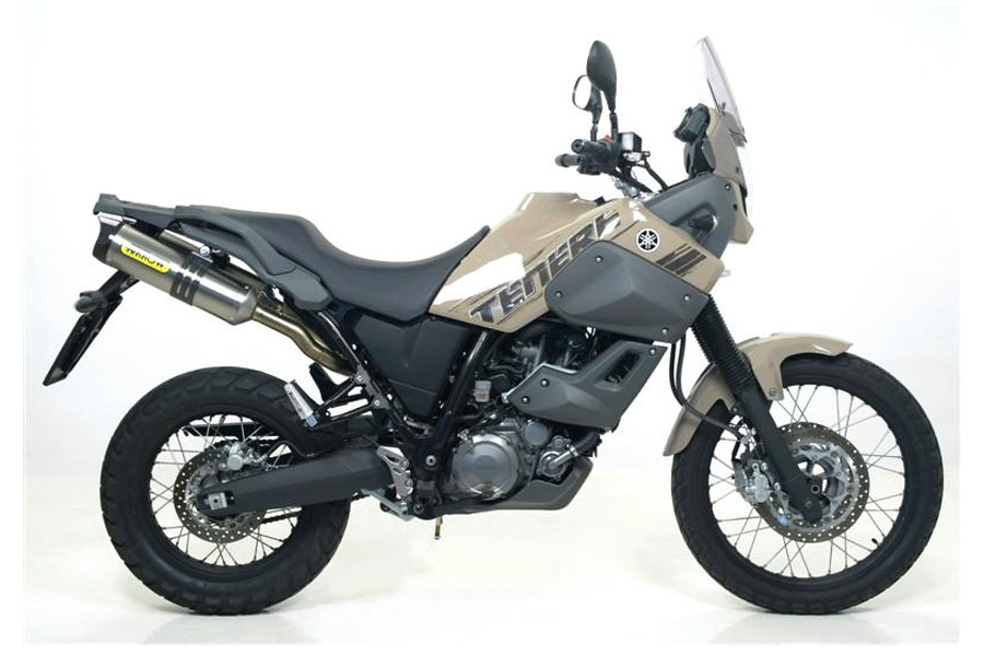 off the road arrow silencers xt 660z tenere buy online. Black Bedroom Furniture Sets. Home Design Ideas