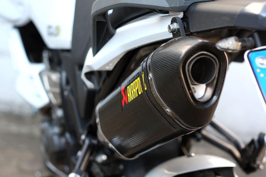 Akrapovic Xt Z Tenere Titan Auspuff Schalldaempfer Exhaust Silencer on Super Tenere Exhaust